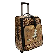 Nicole Lee Cleo21 Inch Expandable Rolling Carry-On, Cosmetic, One Size