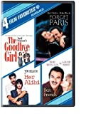 Cover art for  Romance: Four Film Favorites (The Goodbye Girl / Her Alibi / Best Friends / Forget Paris)