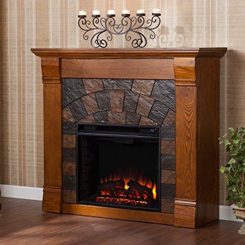 Elkmont Fireplace , Salem Antique Oak