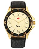 Hala Analogue Gold Dial Men's Watch - Hala 10024