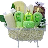 Art of Appreciation Gift Baskets   Essence of Jasmine Bathtub Spa, Bath and Body Set