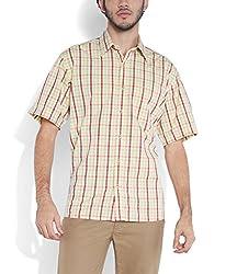 ColorPlus Medium Red Shirts ( 8907150524900_CMSB25210-R5_00L_Medium Red)