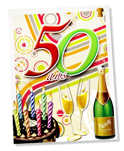 pin carte anniversaire 50 ans rigolote cinquante gratuite fr on pinterest. Black Bedroom Furniture Sets. Home Design Ideas
