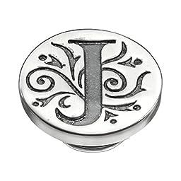 Kameleon Jewelry Silver J Initial Jewelpop KJP010J