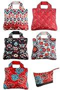 Omnisax Anastasia Reusable Shopping Bags 5-pack