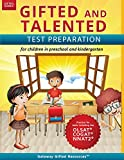 img - for Gifted and Talented Test Preparation: Gifted test prep book for the OLSAT, COGAT, and NNAT2; Workbook for children in preschool and kindergarten (Gifted Games) book / textbook / text book