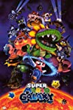 Nintendo Super Mario Galaxy Video Game Poster