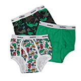 OshKosh B'Gosh Boys 2-7 Dinosaurs 3 Pair Brief Pack