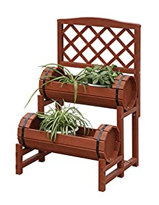 Convenience Concepts Double Barrel Planter