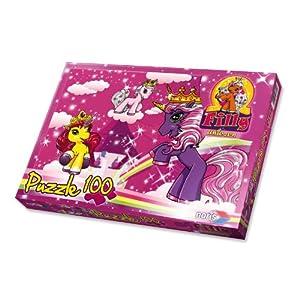Schauen Sie sich Kundenbewertung für Noris-Spiele 606037370 - Filly Unicorn - Am Turm, 100 Teile Puzzle