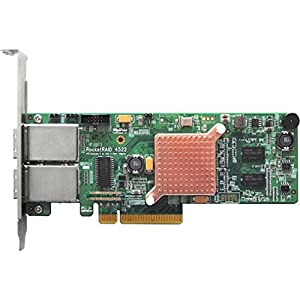 HighPoint RocketRAID 4520 8-Port SAS 6Gb/s PCIe 2.0 x8 Hardware RAID HBA (SAS Tape / RAID Support)