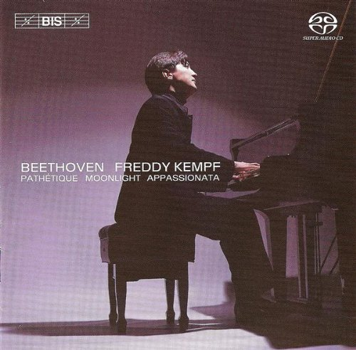 Beethoven Sonatas - Pathetique, Moonlight, Appassionata [Hybrid SACD] LUDWIG VAN