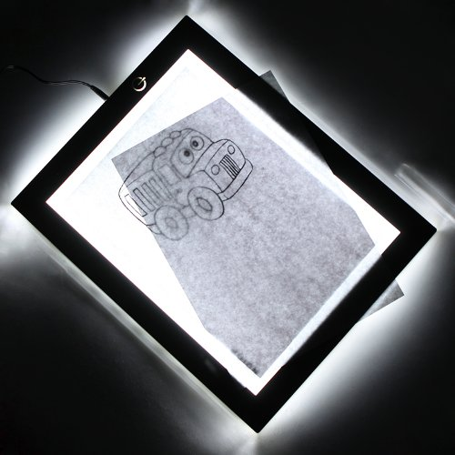 Tomtop Ultra-Thin A4 Led Animation Drawing Tracing Board Light Table Power Adapter(Us Plug)
