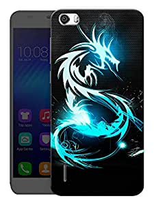 "Humor Gang Dragon Life Printed Designer Mobile Back Cover For ""Huawei Honor 6"" (3D, Matte, Premium Quality Snap On Case)"