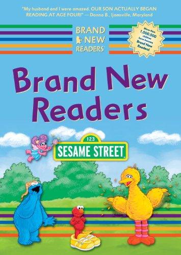 Sesame Street Brand New Readers Box Set