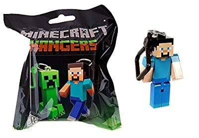 Official Minecraft Exclusive STEVE Action Figure Hanger Series #1 by Mojang