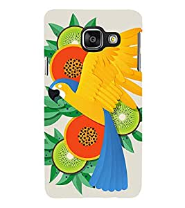 Parrot In Animation 3D Hard Polycarbonate Designer Back Case Cover for Samsung Galaxy A3 :: Samsung Galaxy A3 Duos :: Samsung Galaxy A3 A300F A300FU A300F/DS A300G/DS A300H/DS A300M/DS