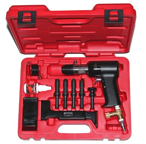 Galleon Boulderfly Deluxe 737 Red Box 2x Rivet Gun And Bucking Bars Kit
