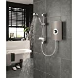 Miniatures Effect Electric Shower with Shower Head Finish: Gun Metal