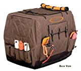 Mud River Dixie Kennel Cover (Brown, X-Large)