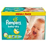 Pampers Windeln Baby Dry Gr.3+ Midi P...