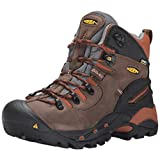 KEEN Utility Men's Pittsburgh Soft Toe Work Boot,Cascade Brown/Bombay Brown,10.5D