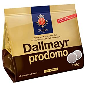 Dallmayr prodomo, 16 Coffee Pods