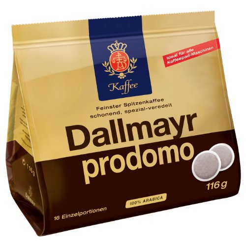 Dallmayr prodomo, 16 Coffee Pods