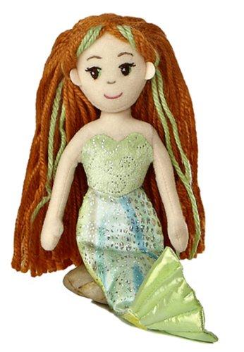 "Aurora World Meriel Mermaid 10"" Plush"