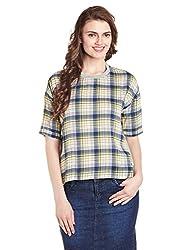 Lee Women's Tunic Top (LESH9139_multi color_Medium)