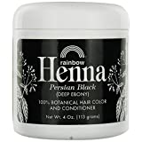 Rainbow Research Henna Persian Black 4 Oz, 2 pack (Color: Black, Tamaño: 4 oz)