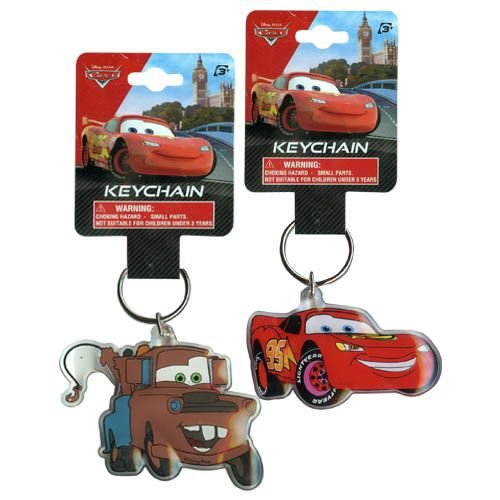 WeGlow International Cars Shaped Assorted Key Chains (3 Keychains)