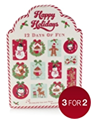 Happy Holidays 12 Days of Fun Advent Calendar