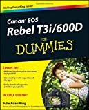 img - for Canon EOS Rebel T3i / 600D For Dummies book / textbook / text book