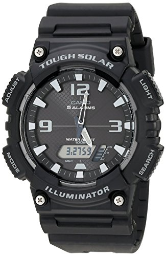Casio Men's AQ-S810W-1AV Solar Sport Combination Watch
