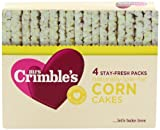 Mrs Crimbles Corn Cakes 140 g (Pack of 6)