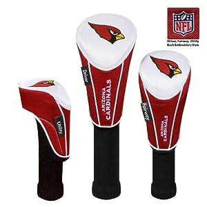 Arizona Cardinals Set of 3 Headcovers by McArthur