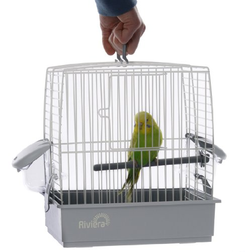 Liberta UK All New Stylish Riviera ICE Bird Carrier, Small