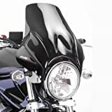 Windshield Puig Plus black for Honda CB Seven Fifty/ 500/ 1000/ 1300, CB-1, CBF 250/ 500/ 600, Hornet 600/ 900, NTV 650 Revere, VTR 250, X4