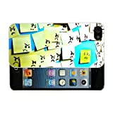 Apple iPhone 4, 4S Fun Funny Post it notes Case/Cover + Screen Protector - White