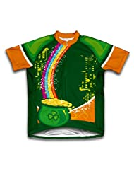 St. Patrick's Day Jackpot Short Sleeve Cycling Jersey for Women