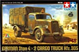 Tamiya 1/48 German 3Ton 4x2 Cargo Truck Kfz.305 (Limited Edition)