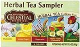 Celestial Seasonings Herb Tea Sampler, Variety Pack of 5 Flavors, 18-Count Tea Bags (Pack of 6)