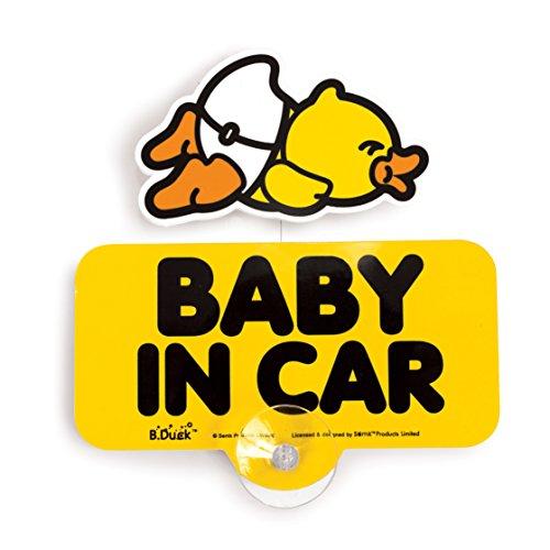 B.Duck Car Sign - Horizontal