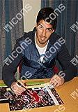 Luis Suarez Signed Photo: Man Utd Goal