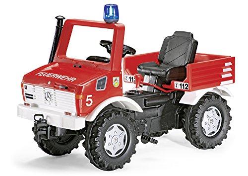 rolly toys 036639 - Camion dei pompieri con luci e suoni, 110 cm [Importato da Germania]