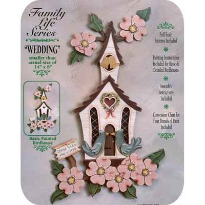 Wedding Tole Project Kit (Woodworking Kit)