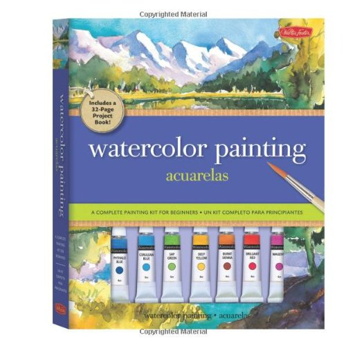 Watercolor Painting: A complete painting kit for beginners