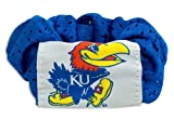Kansas Jayhawks Hair Twist Ponytail Holder at Amazon.com