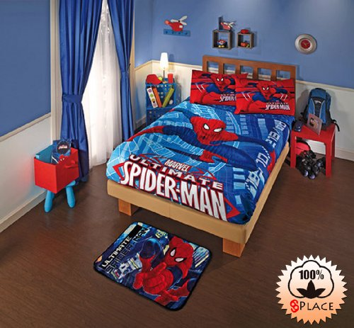 Spiderman Twin Comforter front-1080624